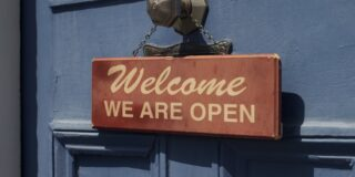 we are open image
